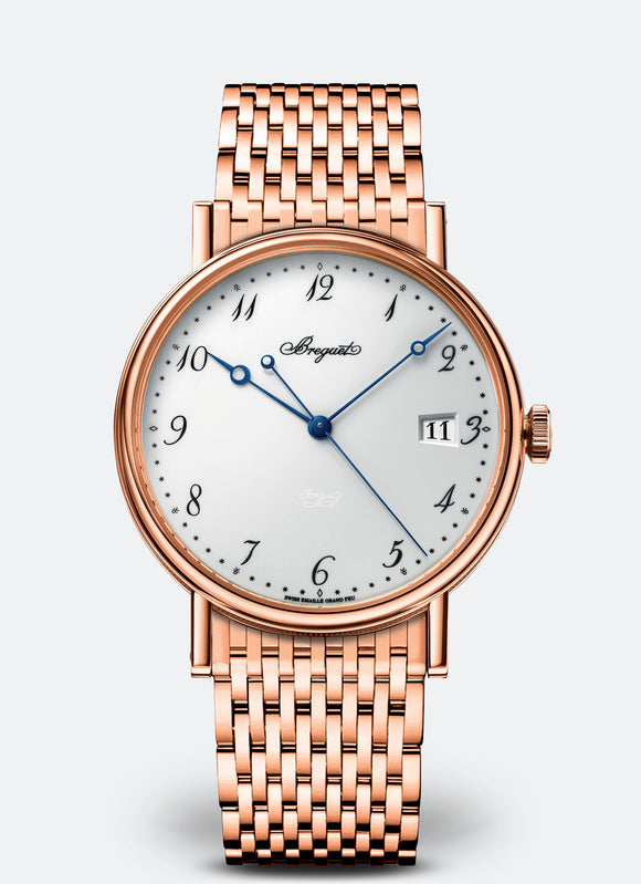 Breguet Classique 18kt Rose Gold White Dial - The Luxury Well