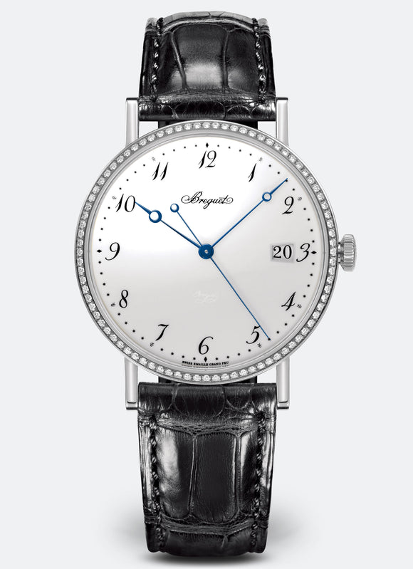 Breguet Classique 5178 18kt White Gold White Dial - The Luxury Well
