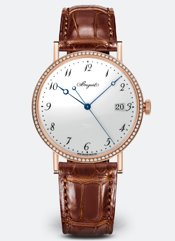 Breguet Classique 5178 18kt Rose Gold White Dial - The Luxury Well