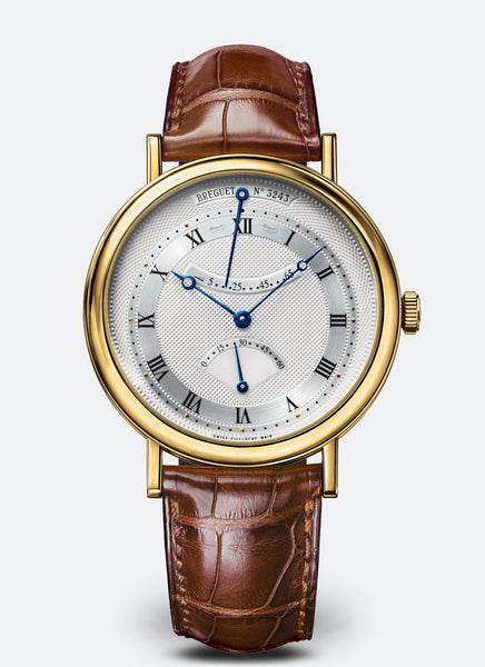 Breguet Classique Retrograde Seconds 18kt Yellow Gold Silver Dial - The Luxury Well