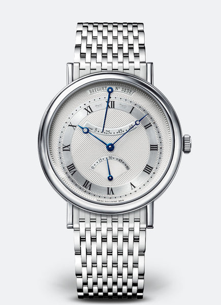 Breguet Classique Retrograde Seconds 18kt White Gold Silver Dial - The Luxury Well