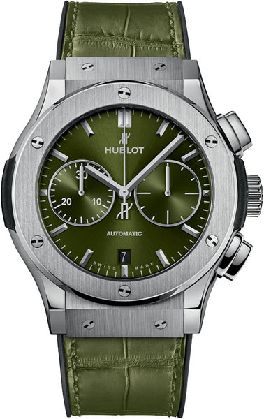 Hublot Classic Fusion Chronograph 45mm Green Dial