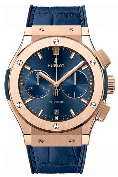 Hublot Classic Fusion Blue Chronograph 45mm - The Luxury Well