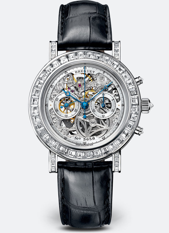 Breguet Classique 5238 Chronograph 18kt White Gold - The Luxury Well