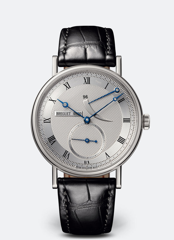 Breguet Classique 5277 18kt White Gold Silvered Gold Dial - The Luxury Well