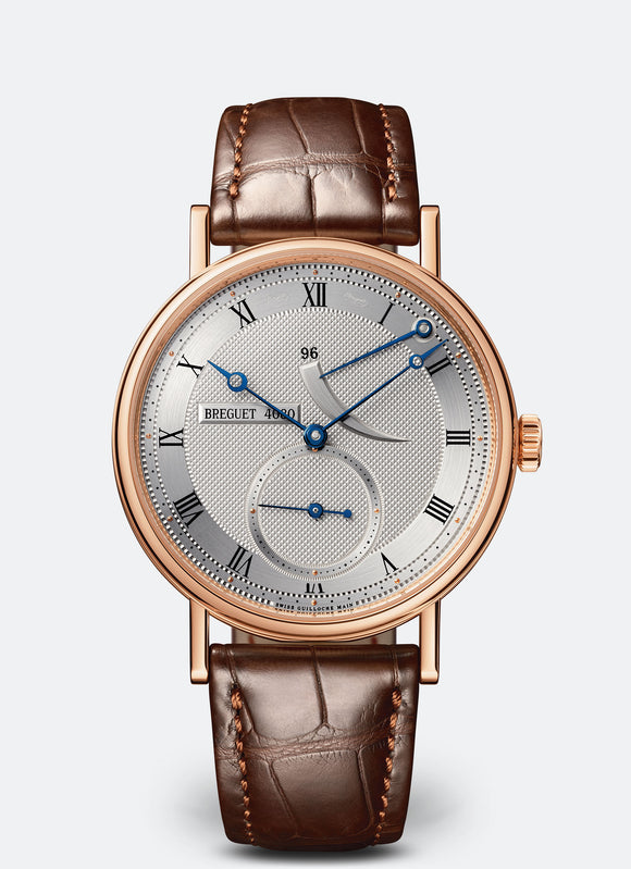 Breguet Classique 5277 18kt Rose Gold Silvered Gold Dial - The Luxury Well