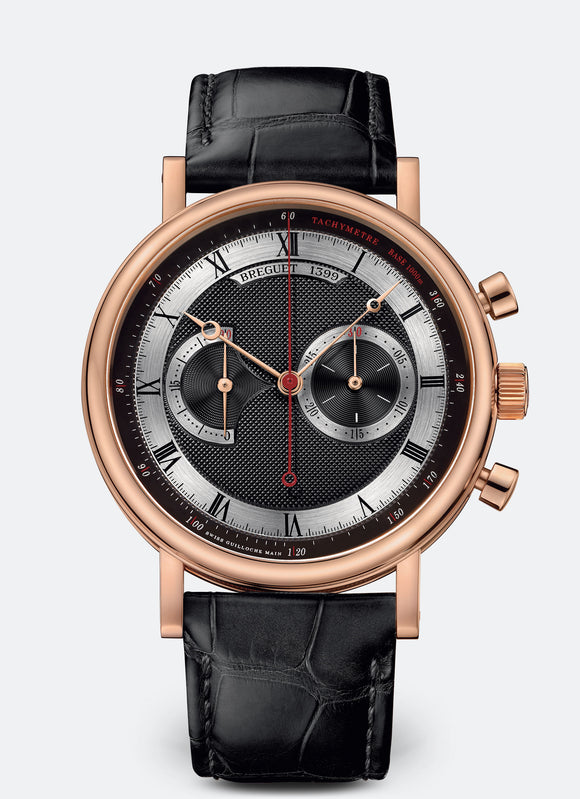 Breguet Classique 5287 18kt Rose Gold Black rhodium-plated gold - The Luxury Well