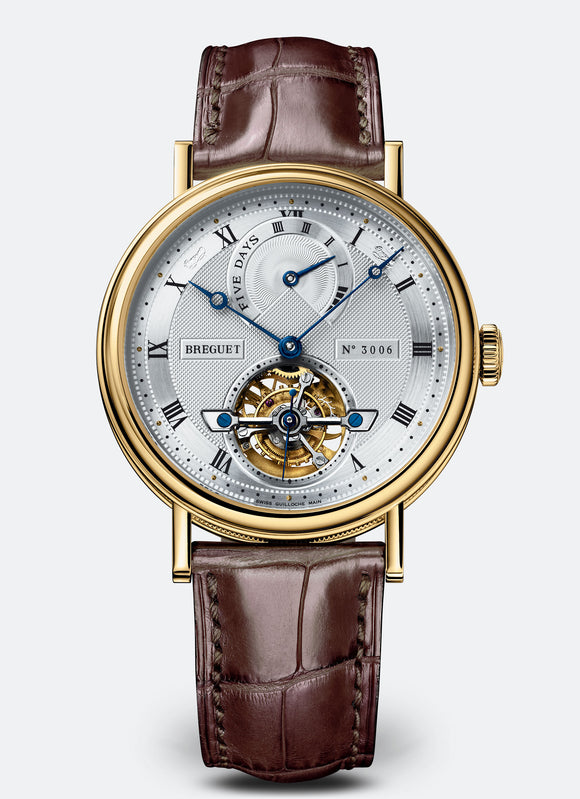 Breguet Classique Complications 5317 Tourbillon 18kt Yellow Gold - The Luxury Well