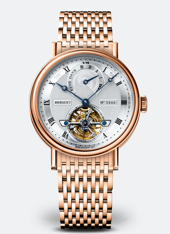 Breguet Classique Complications 5317 Tourbillon 18kt Rose Gold - The Luxury Well