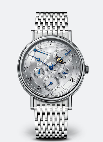 Breguet Classique 5327 Perpetual Calendar 18kt White Gold - The Luxury Well