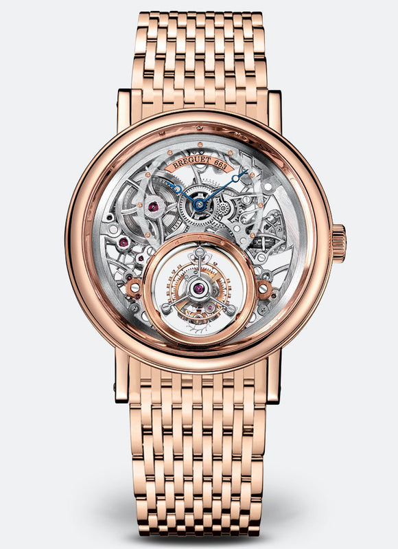 Breguet Classique Complications Tourbillon Messidor 18kt Rose Gold - The Luxury Well