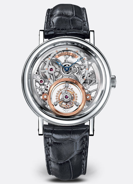 Breguet Classique Complications Tourbillon Messidor Platinum - The Luxury Well