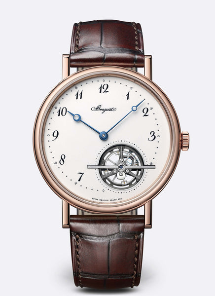 Breguet Classique 5367 Tourbillon Extra Plat 18kt Rose Gold - The Luxury Well