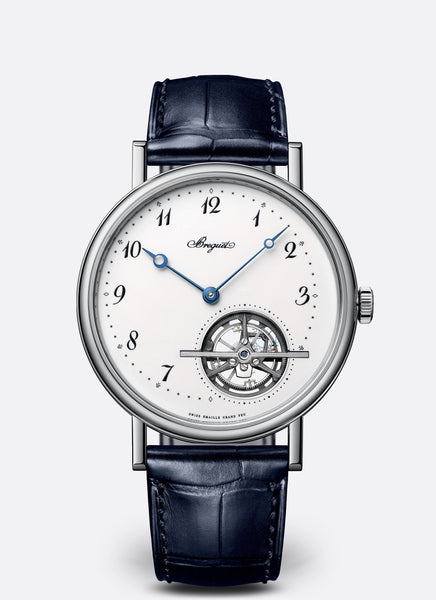 Breguet Classique 5367 Tourbillon Extra Plat Platinum White Dial - The Luxury Well