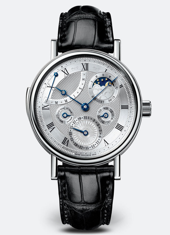 Breguet Repetition Minutes 7637 18kt White Gold Silver Dial - The Luxury Well