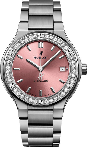 Hublot Classic Fusion Automatic 38mm Pink Dial