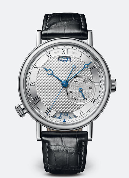 Breguet Classique Hora Mundi 5727 18kt White Gold Silvered Gold Dial - The Luxury Well