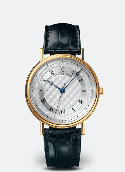 Breguet Classique 5930 Automatic 18kt Yellow Gold Silver Dial - The Luxury Well
