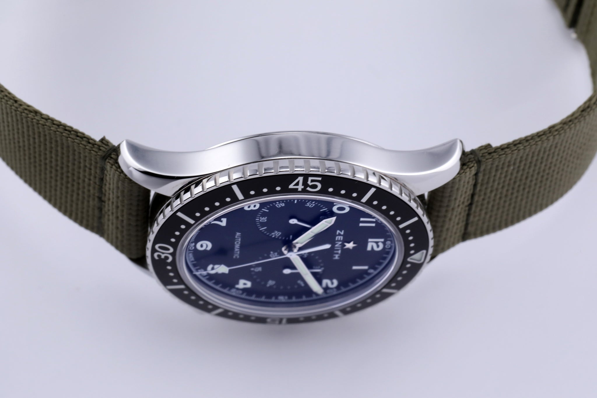 Zenith Pilot Chronograph Tipo CP-2 Military