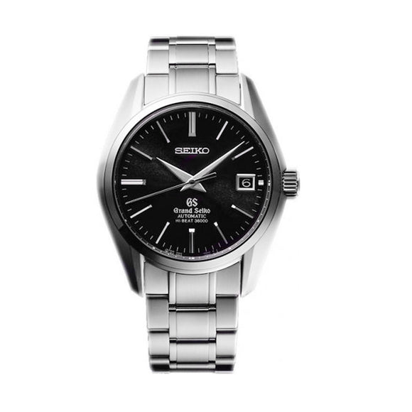 Grand Seiko Automatic Hi Beat Black Sunburst Dial - The Luxury Well