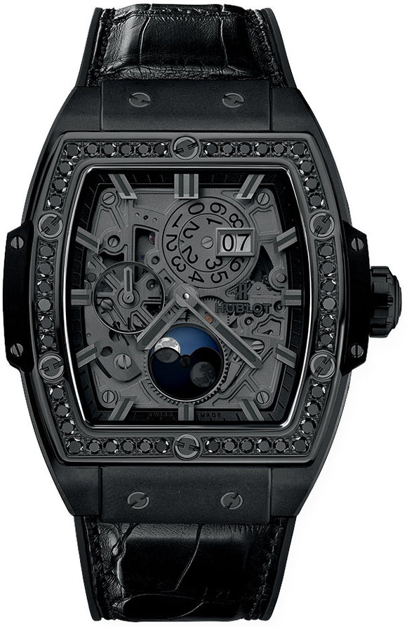 Hublot Spirit Of Big Bang Moonphase All Black 42mm