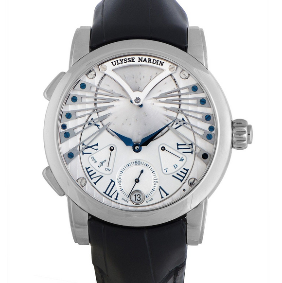 Ulysse Nardin Stranger Silver Dial 45mm - The Luxury Well