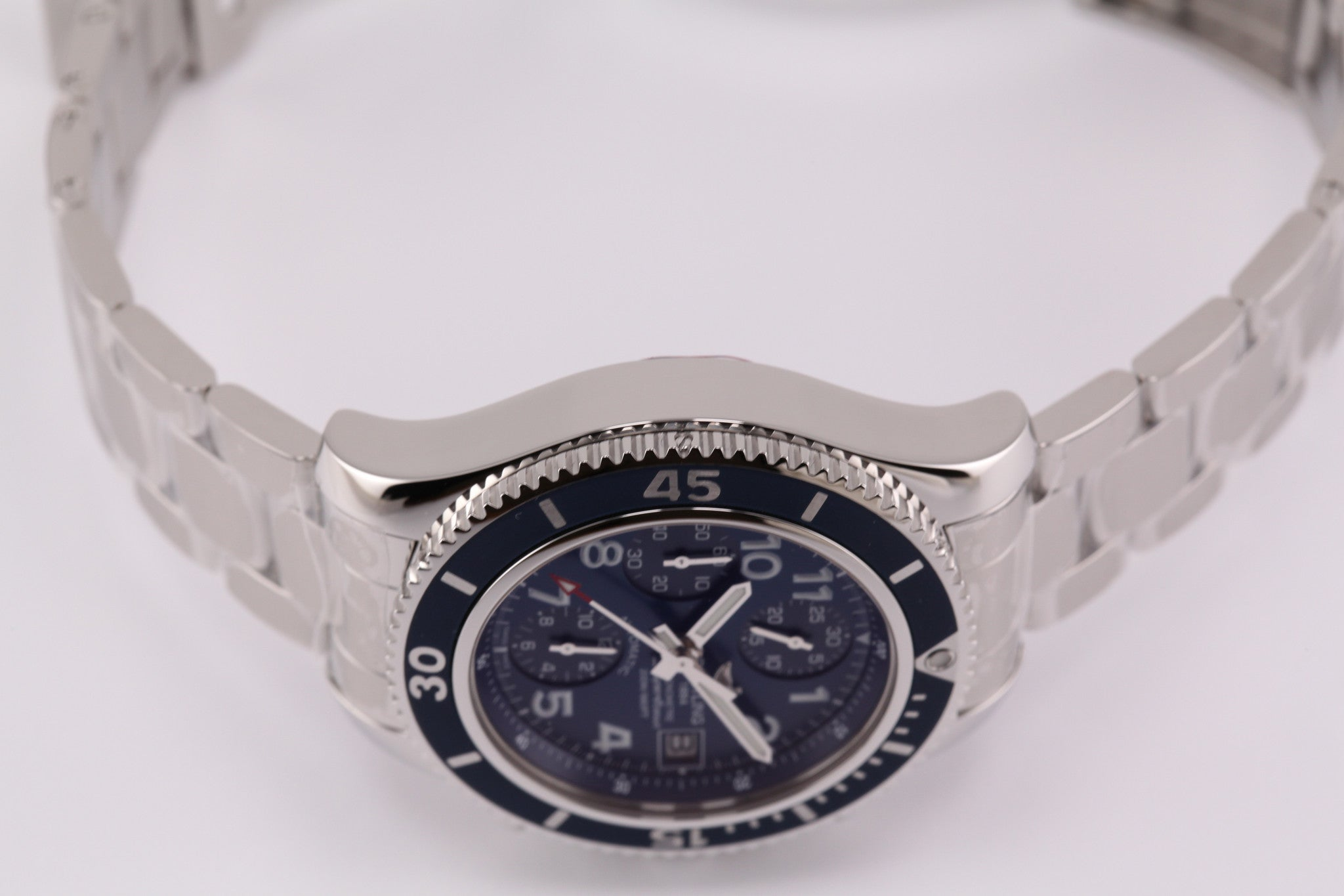 Breitling Superocean Chronograph Blue Dial (Independence Day Special)