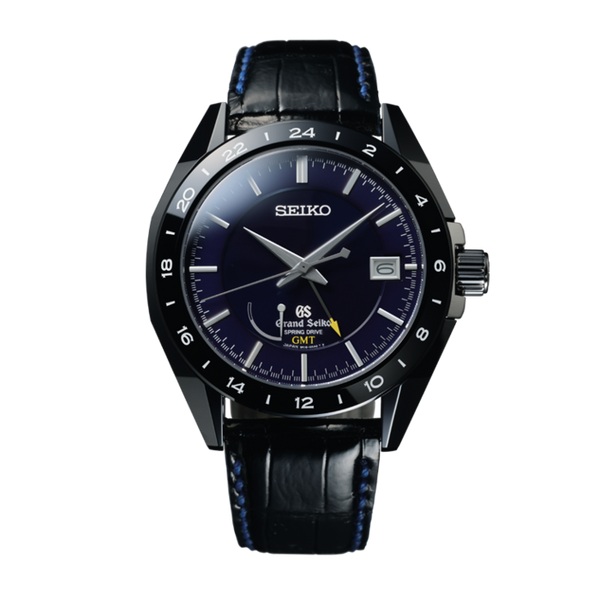 Grand Seiko Spring Drive Sport GMT Blue Ceramic Ltd. Edition - The Luxury Well