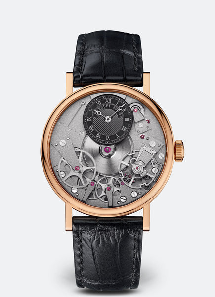 Breguet Tradition 7027 18kt Rose Gold Manual Wind - The Luxury Well