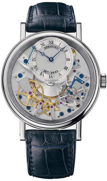 Breguet Tradition Manual Wind 18kt White Gold - The Luxury Well