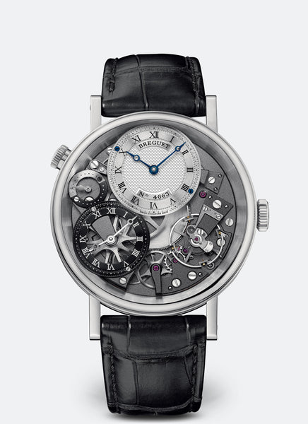 Breguet Tradition GMT Manual Wind White Gold - The Luxury Well