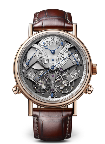 Breguet Tradition 7077 18kt Rose Gold Grey Dial - The Luxury Well