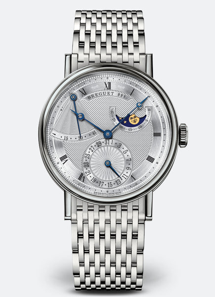 Breguet Classique 7137 Power Reserve 18kt White Gold - The Luxury Well