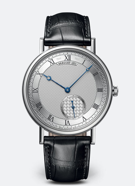 Breguet Classique 7147 Automatic 18kt White Gold Silver Dial - The Luxury Well
