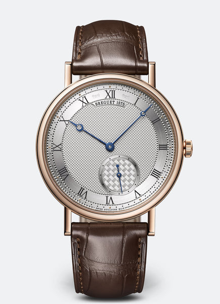 Breguet Classique 7147 Automatic 18kt Rose Gold Silver Dial - The Luxury Well