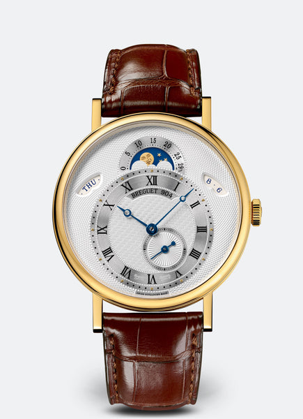 Breguet Classique 7337 Day Date Moonphase 18kt Yellow Gold - The Luxury Well