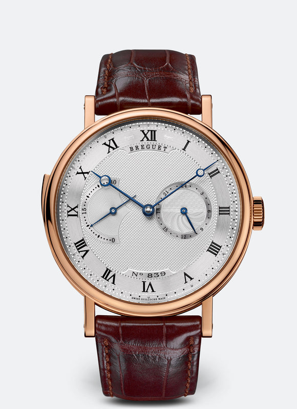 Breguet Repetition Minutes 7637 18kt Rose Gold Silver Dial