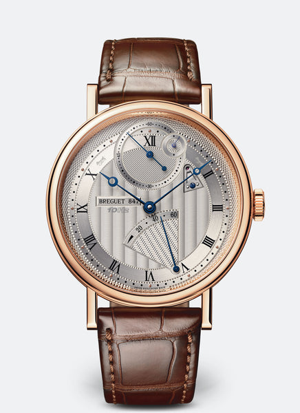 Breguet Classique Chronometrie 18kt Rose Gold Silver Dial - The Luxury Well