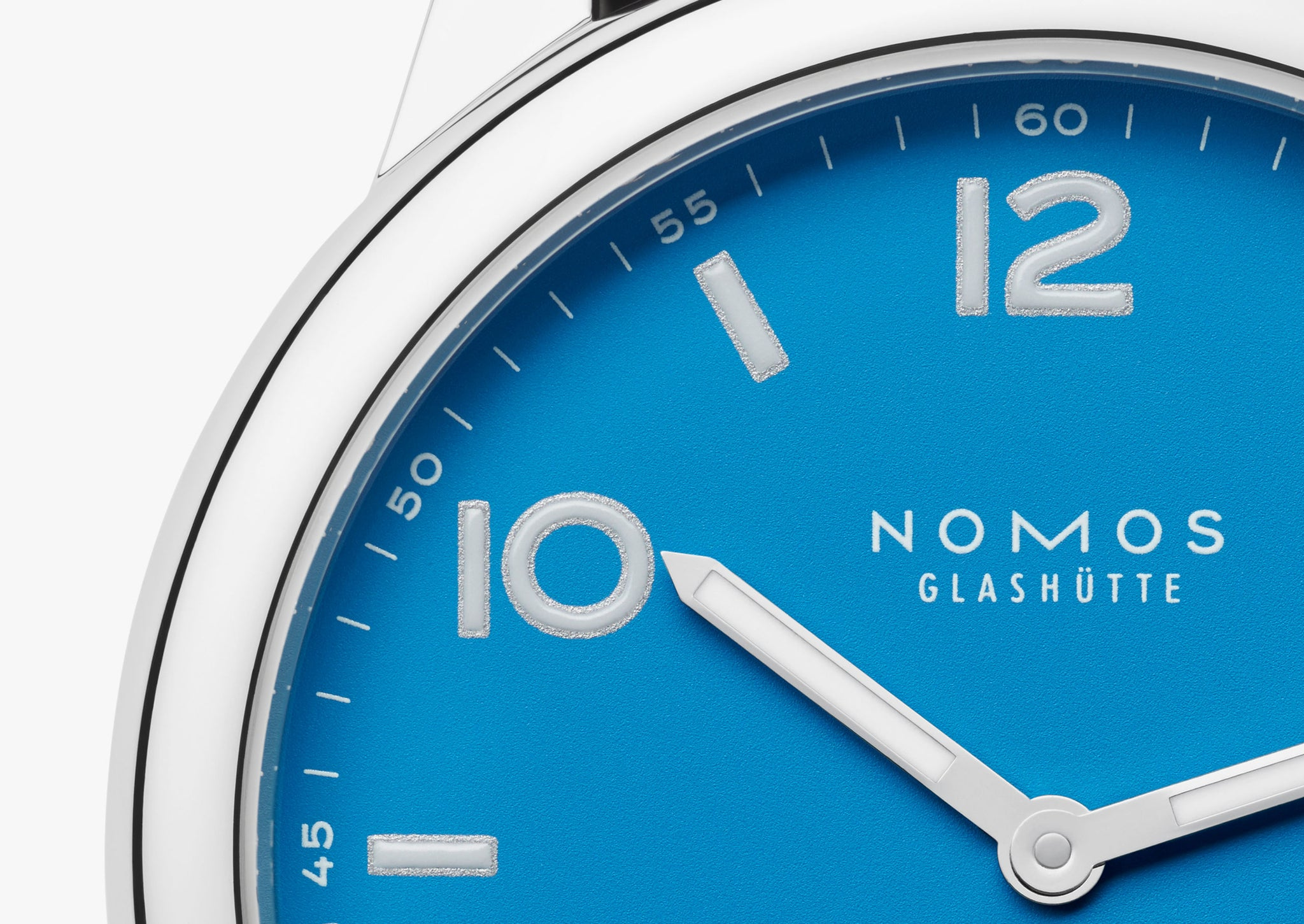 NOMOS Club Automatic Date Siren Blue Ref. 777