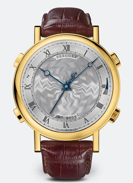 Breguet Classique La Musicale 7800 18kt Yellow Gold Silver Dial - The Luxury Well