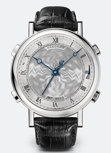 Breguet Classique La Musicale 7800 18kt White Gold Silver Dial - The Luxury Well