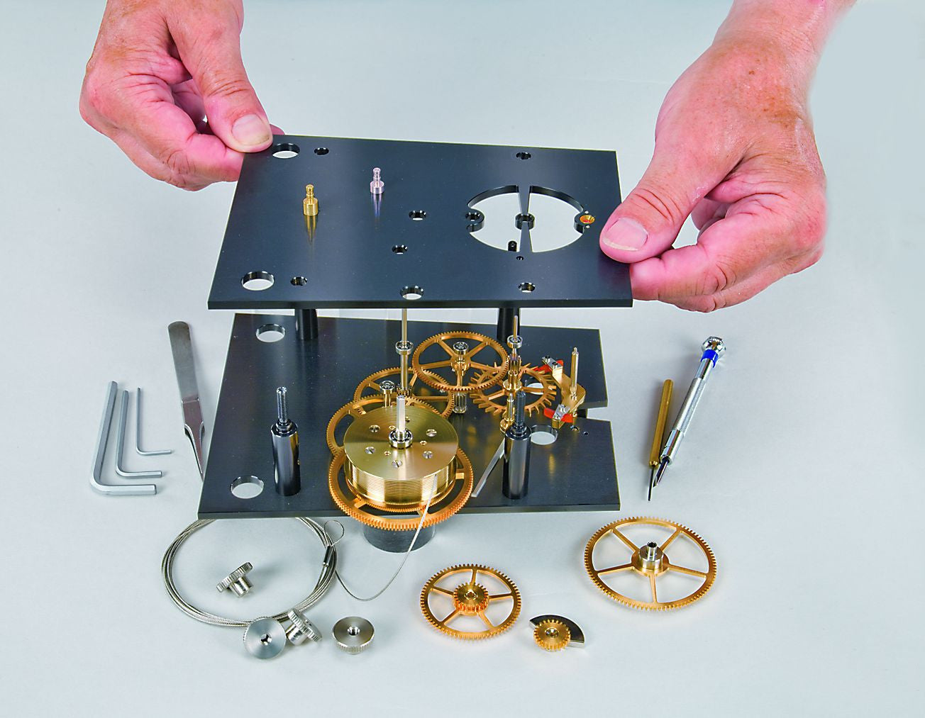 Erwin Sattler Mechanica M1 Exclusive DIY kit for Modern Precision Pendulum Clock