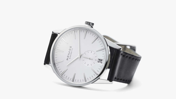 NOMOS Glashütte Zürich Date Automatic Silver Ref. 802 - The Luxury Well