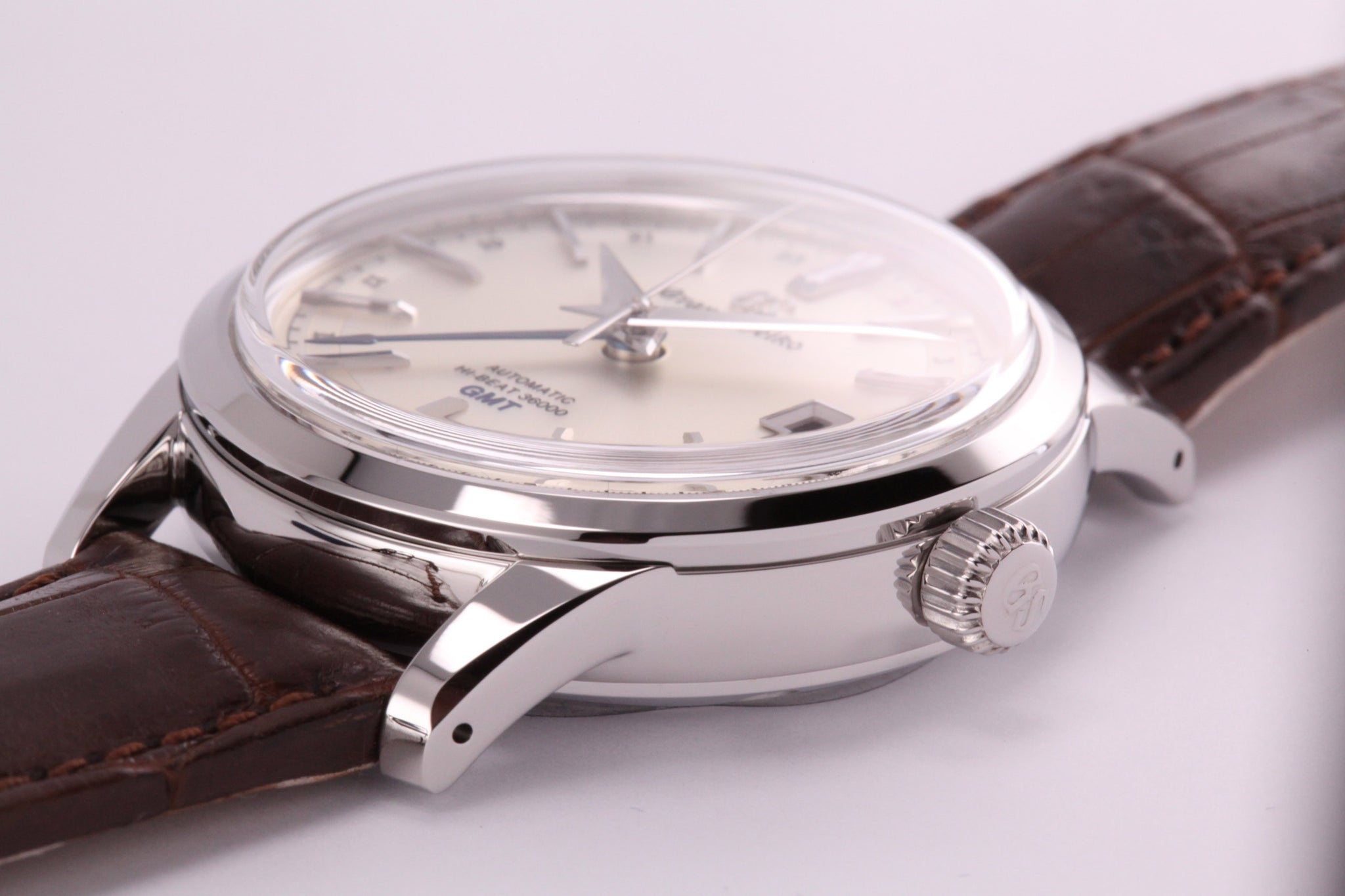 Grand Seiko Automatic Hi Beat GMT Silver Dial (New Model)
