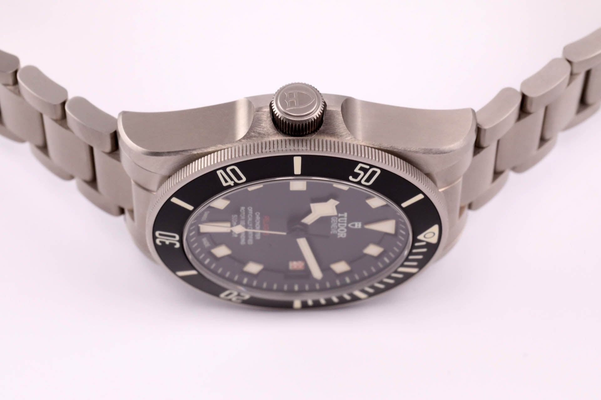 "Tudor Pelagos LHD - Titanium Black/Red Left (""the"" Pelagos)"