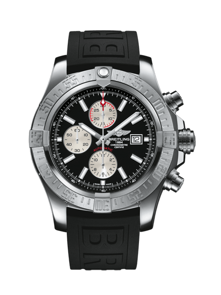 Breitling Super Avenger II Chronograph Stainless Steel - The Luxury Well