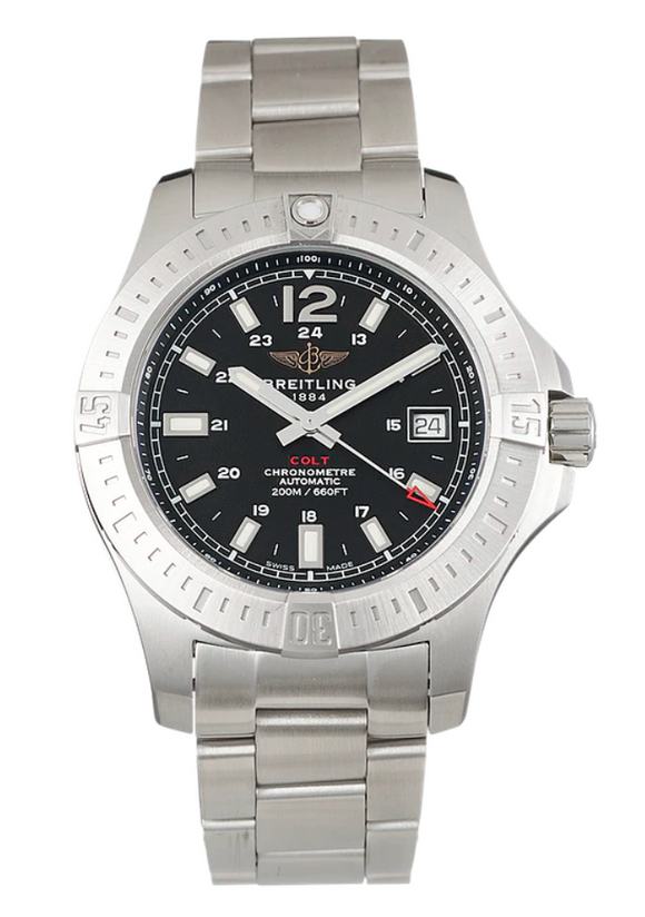 Breitling Colt Automatic Chronometer Black 41mm - The Luxury Well