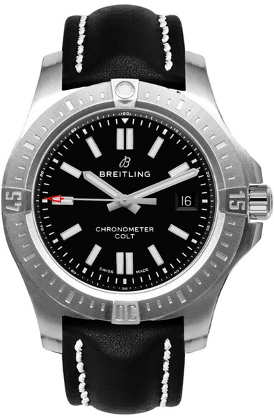 Breitling Chronomat Colt Automatic Chronometer Black 44mm - The Luxury Well