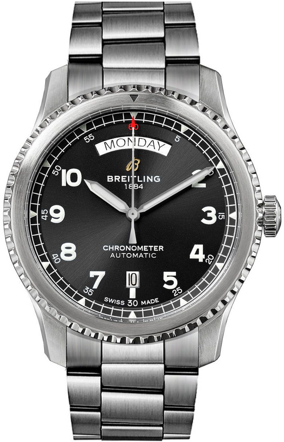 Breitling Navitimer 8 Automatic Chronometer Stainless Steel - The Luxury Well