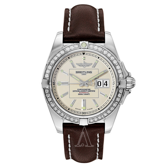 Breitling Galactic 41 Stainless Steel - The Luxury Well